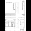BIANKA PLUSZ 95 Fürdőszobaszekrény kombináció TBOSS