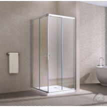 MOTRIL ZKM-9002 Szögletes zuhanykabin 900x900x1950  ATLANTIS