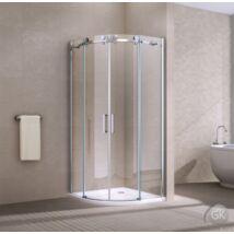 BELVER R55 ZBI-900 Íves zuhanykabin 90x90x195  ATLANTIS