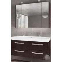 KOLO TRAFIC K120 FALI 1 medencés mosdóval fürdőszoba szekrény kombináció TBOSS