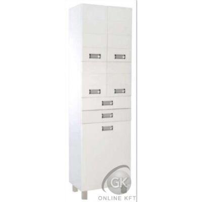 SZQUARE 50 magas szekrény 3 ajtó 2 fiók VIVA STYLE