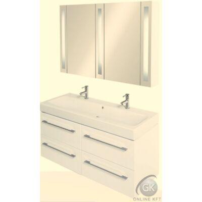 KERAMAG ICON K120 FALI 2 med mosdóval fürdőszoba szekrény kombináció TBOSS