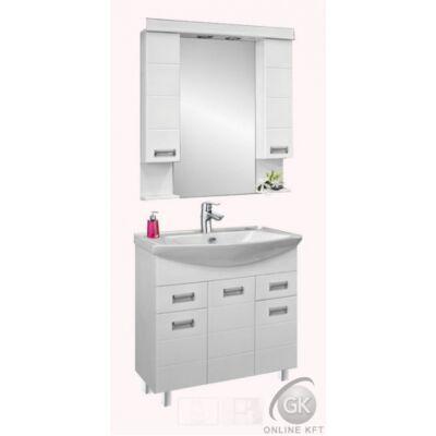 SZQUARE 85 fürdőszobaszekrény kombináció VIVA STYLE