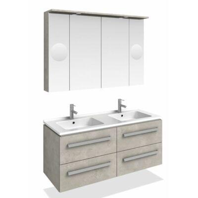 MODENA K120 FALI  fürdőszoba szekrény kombináció TBOSS new 2019