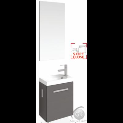 MODENA 40 LUX Mosdószekrény mosdóval + Tükör + Led világítás TBOSS