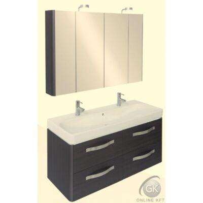KOLO TRAFIC K120 FALI 2 medencés mosdóval fürdőszoba szekrény kombináció TBOSS