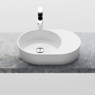 MOON 2S mosdó, túlfolyó nélkül, fehér XJN01300003 RAVAK